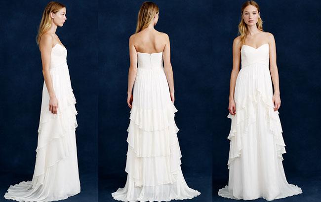 Luminita Cosleacara recomanda rochia cu volane asimetrice